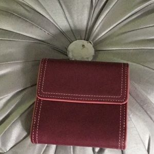 AUTHENTIC COACH SMALL WALLET IN RASPBERRY PINK
